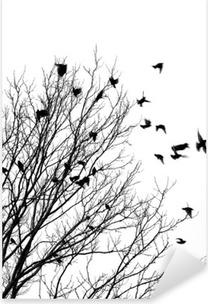 Vinilo Pixerstick Flying birds