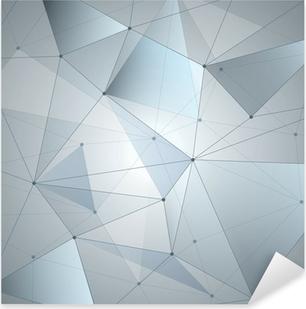 Vinilo Pixerstick Fondo abstracto, la geometría, las líneas y los puntos