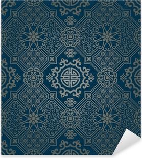 Vinilo Pixerstick Fondos de escritorio de estilo oriental, sin patrón