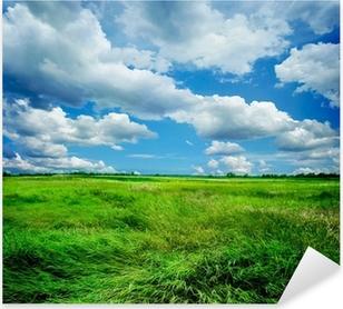 Vinilo Pixerstick Hermoso paisaje de la naturaleza