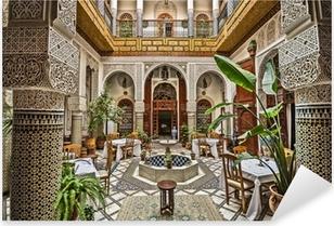 Vinilo Pixerstick Interior marroquí