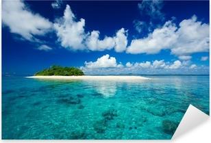 Vinilo Pixerstick Isla tropical paraíso vacacional