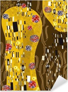 Vinilo Pixerstick Klimt inspiró el arte abstracto