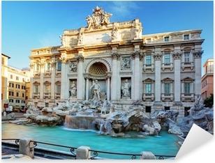 Vinilo Pixerstick La Fontana de Trevi. Roma, Italia.