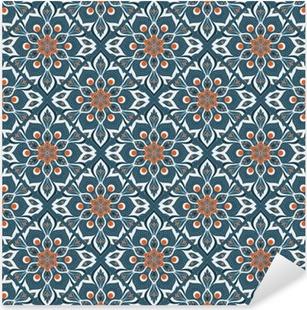 Vinilo Pixerstick La mano sin fisuras elaborado patrón de mandala.