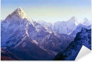 Vinilo Pixerstick Las montañas del Himalaya