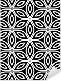 eb9639953aed5 Vinilo Pixerstick Modernos del vector círculos patrón de colores sin  fisuras geometría