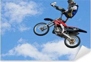 Vinilo Pixerstick Motocross