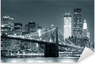 Vinilo Pixerstick New York Brooklyn Bridge
