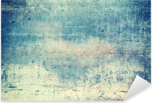 Vinilo Pixerstick Orientación horizontal azul de fondo de color grunge