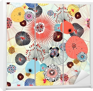 Vinilo para Armario Textura abstracta