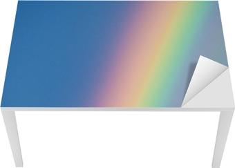 Vinilo para Mesa y Escritorio Arco iris