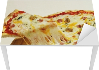 Vinilo Pixerstick Cuatro queso para pizza • Pixers® - Vivimos para ...