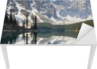 Vinilo Pixerstick Lago Moraine, Montañas Rocosas, Canadá • Pixers ...