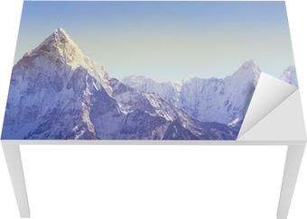 Vinilo para Mesa y Escritorio Las montañas del Himalaya
