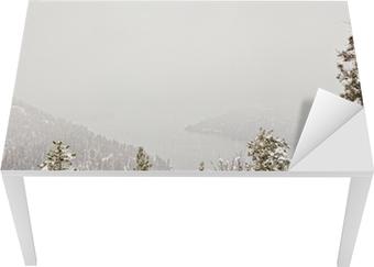 Vinilo para Mesa y Escritorio Snow storm