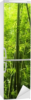 Vinilo para Nevera Bamboo forest