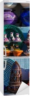 Vinilo para Nevera Cerámica tradicional marroquí