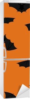 Vinilo para Nevera Flying murciélagos