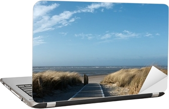 Vinilo para Portátil Playa del Mar del Norte en Langeoog