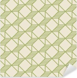 Vinilo Pixerstick Patrón de formas geométricas