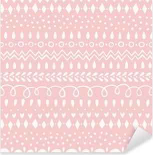 Vinilo Pixerstick Patrón sin fisuras de cuarzo rosa