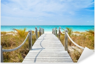 Vinilo Pixerstick Playa del Caribe