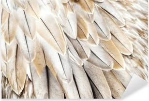 Vinilo Pixerstick Plumas de aves