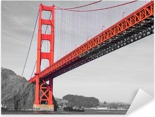 Vinilo Pixerstick San Francisco - Golden Gate
