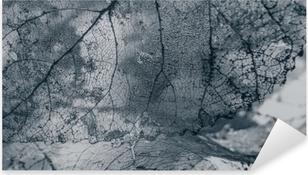Vinilo Pixerstick Teja, textura de las hojas
