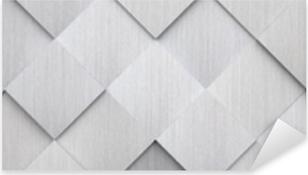 Vinilo Pixerstick Textura de metal embaldosado (cabeza del sitio web)
