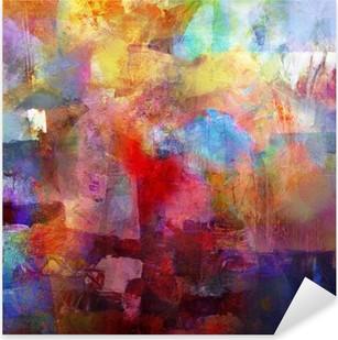 Vinilo Pixerstick Texturas de pintura