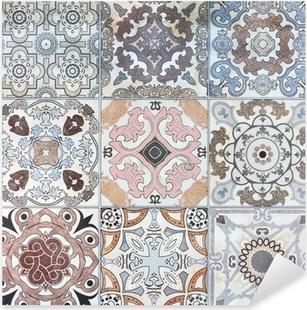 Vinilos azulejos pixers vivimos para cambiar for Vinilos pared azulejos