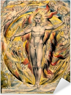 Vinilo Pixerstick William Blake - Moisés