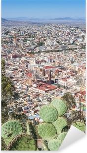 Vinilo Pixerstick Zacatecas, ciudad colorida en México