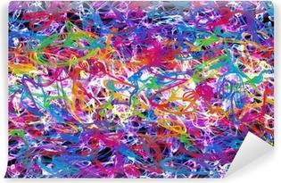 abstract graffiti Vinyl Wall Mural