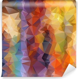 Abstract polygonal background Vinyl Wall Mural