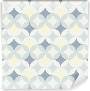 abstract retro geometric pattern Vinyl Wall Mural