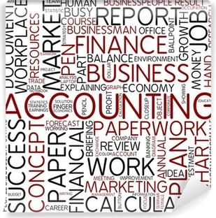 accounting Vinyl Wall Mural