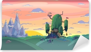 Adventure Time: Fort Vinyl Wall Mural