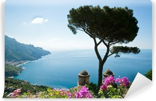 Amalfi coast view Vinyl Wall Mural