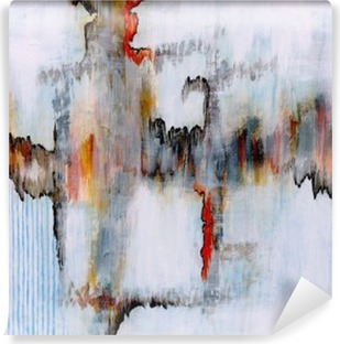 an abstract painting Vinyl Wall Mural