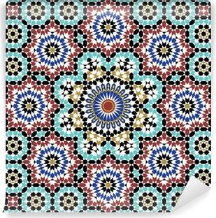 Anvar Moorish Pattern Vinyl Wall Mural