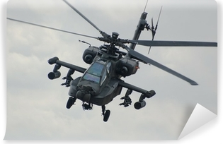Apache helicopter Vinyl Wall Mural