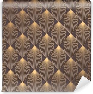 Art Deco Pattern Vinyl Wall Mural