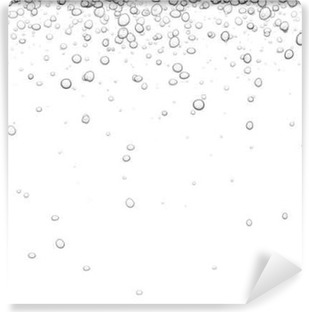 Background with bubbles. Vinyl Wall Mural