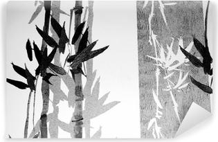 Bamboo / Texture Vinyl Wall Mural