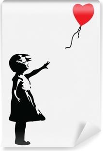 Banksy Vinyl Wall Mural