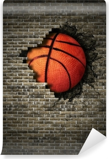 basketball Vinyl Wall Mural