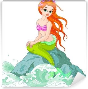 Beautiful Mermaid Vinyl Wall Mural